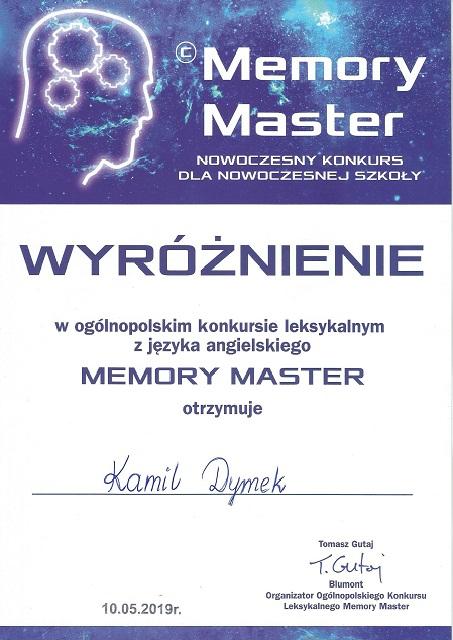 "You are browsing images from the article: Ogólnopolski konkurs leksykalny ""MEMORY MASTER"" – 10.05.2019"