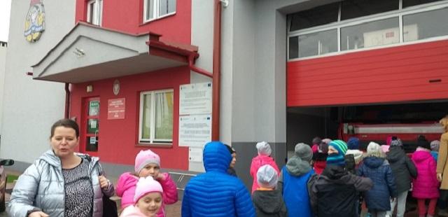 You are browsing images from the article: Wizyta w Komendzie Powiatowej Straży Pożarnej w Mielcu - 18.03.2019