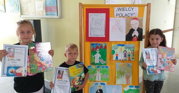 "You are browsing images from the article: Szkolny konkurs plastyczny ""WIELCY POLACY"" – 23.06.2020"