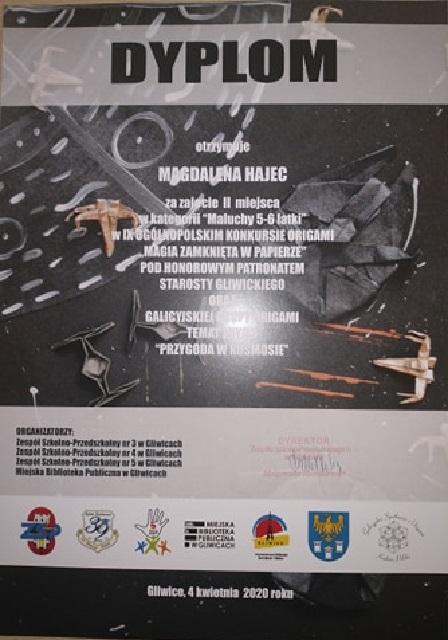 "You are browsing images from the article: Ogólnopolski Konkurs Origami ""Magia zamknięta w papierze"""