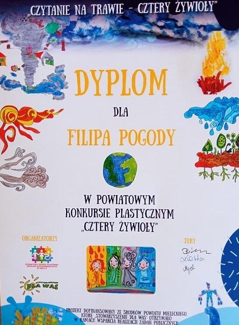 "You are browsing images from the article: Powiatowy konkurs plastyczny ""Cztery Żywioły"""
